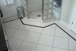 Vinylgulv til toilettet