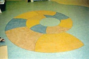 Mønstret linoleumsgulv Hobro